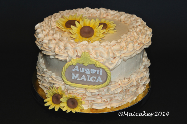 torta sunflower