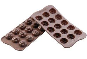 Stampi cioccolatini silikomart
